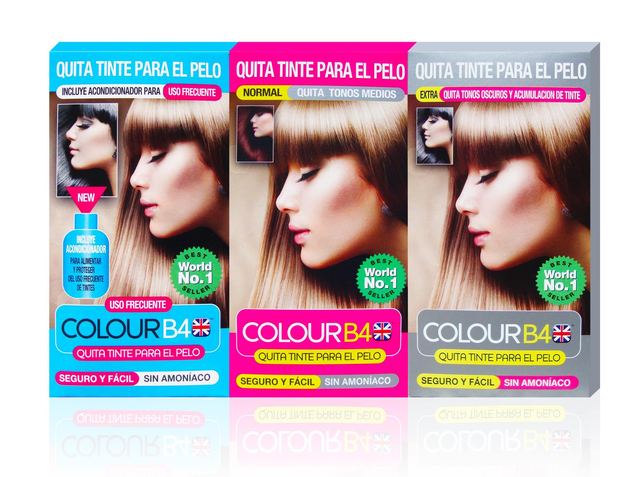 Removedor de color de cabello mexico