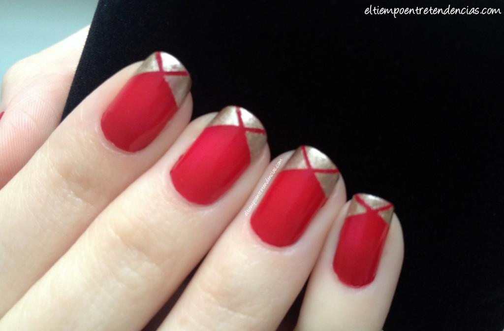 Tutorial de uñas pintadas Masglo y Essie - El tiempo entre ...