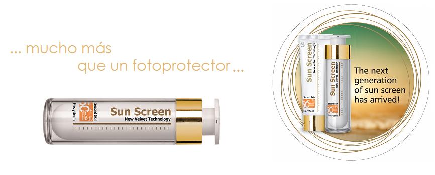 Protector Solar Velvet Sun Screen De Frezyderm El Tiempo